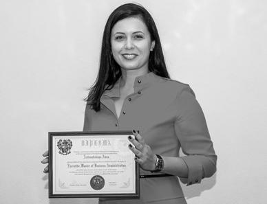 Antonovskaia Anna, Marketing and Sales Director, IBSA