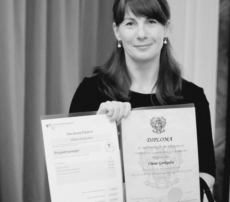 Gorkusha Elena, Head of Sales Development, UNIQA