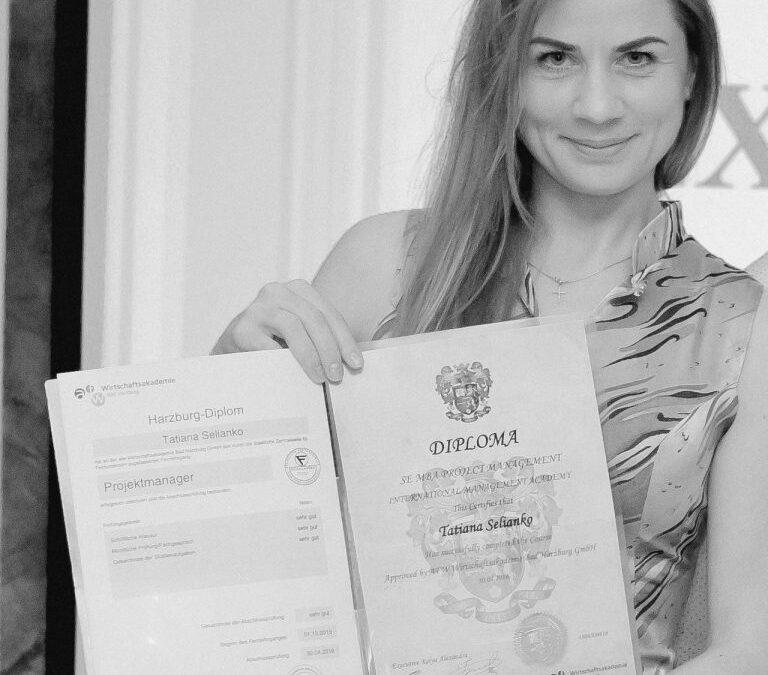 Selianko Tatiana, Marketing Specialist